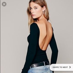 Free People Intimately Low Back Top